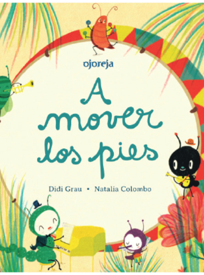 A MOVER LOS PIES- Cartoné